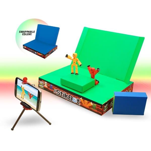Купить Игровой набор Stikbot Анимационная студия со сценой в интернет магазине игрушек и детских товаров