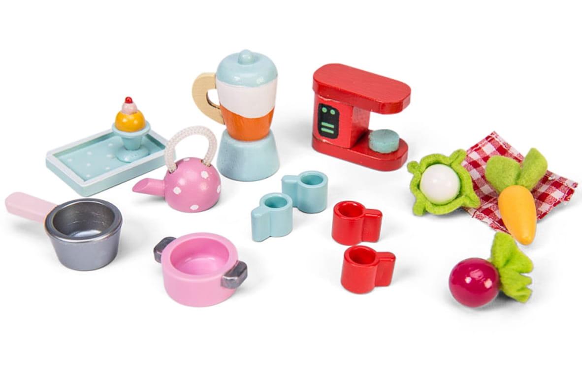 Набор аксессуаров для домика Le Toy Van ME079 Бытовая техника, посуда и еда