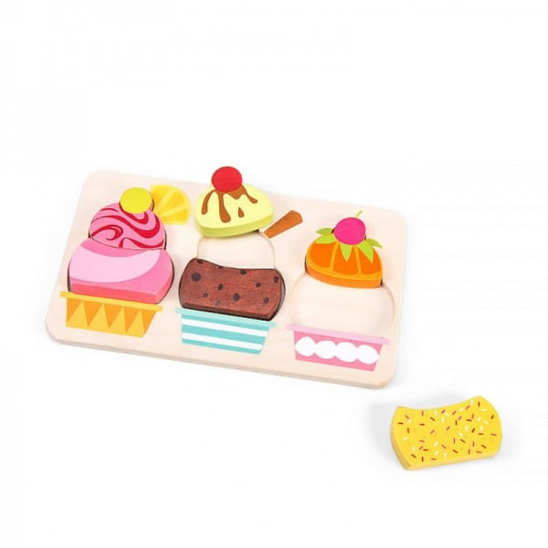 Пазл Le Toy Van Вишневое мороженое с фруктами