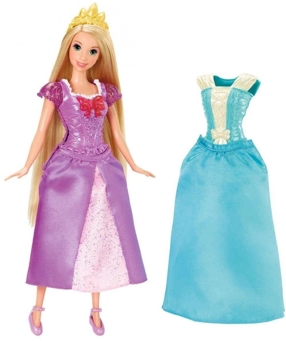 Кукла Disney Princess X9357/X9360 Рапунцель с дополнительным нарядом (Mattel)
