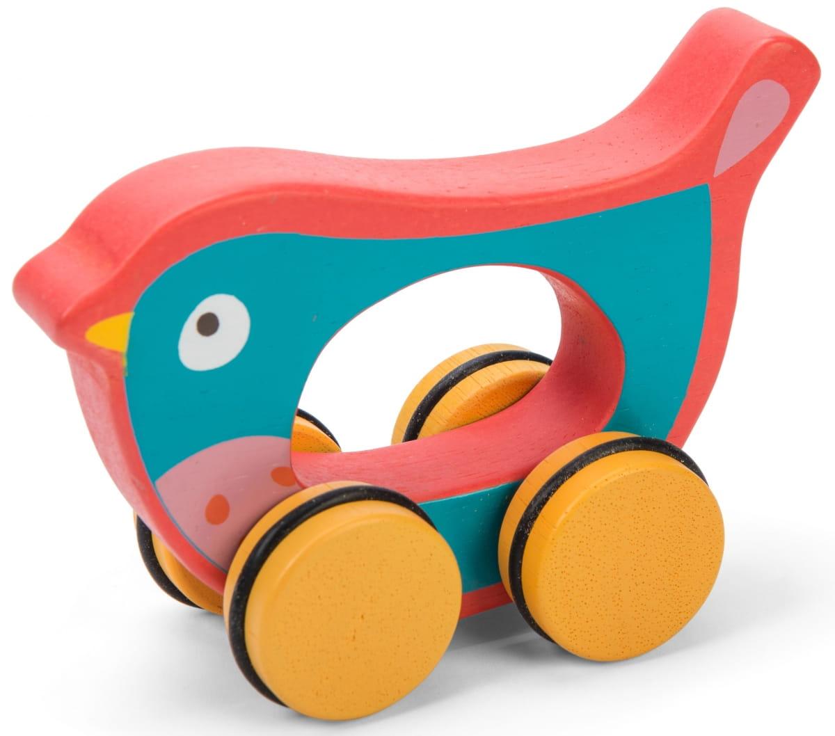 Деревянная каталка Le Toy Van PL032 Птичка