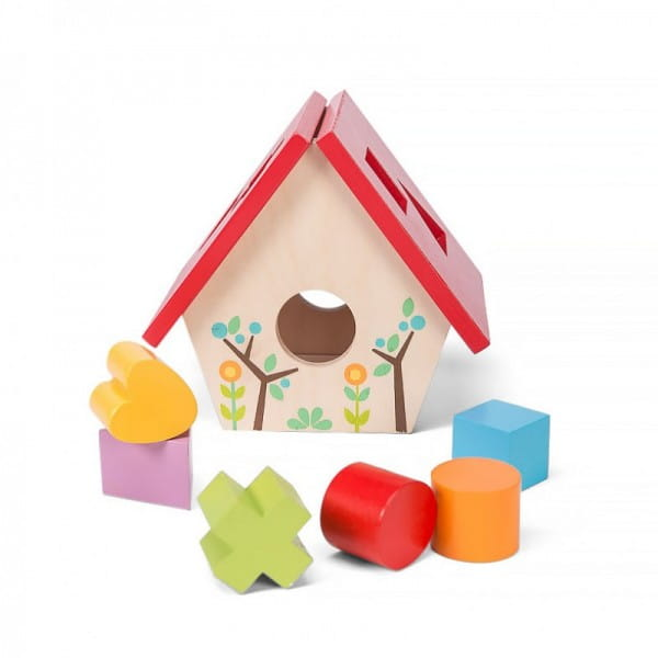 Сортер деревянный Le Toy Van Домик для птички