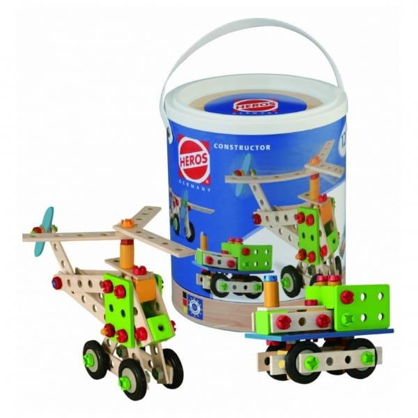 Купить Конструктор Heros Вертолет - 120 деталей (4 варианта сборки) в интернет магазине игрушек и детских товаров