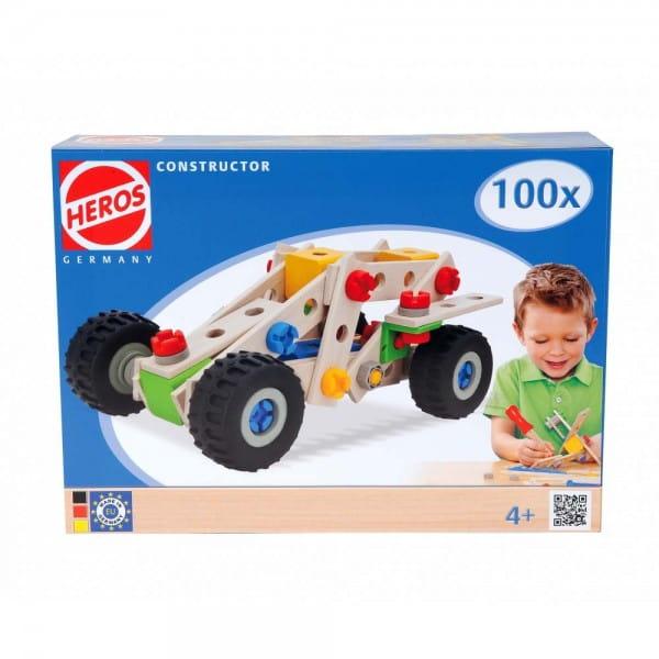 Купить Конструктор Heros Квадроцикл - 100 деталей (4 варианта сборки) в интернет магазине игрушек и детских товаров