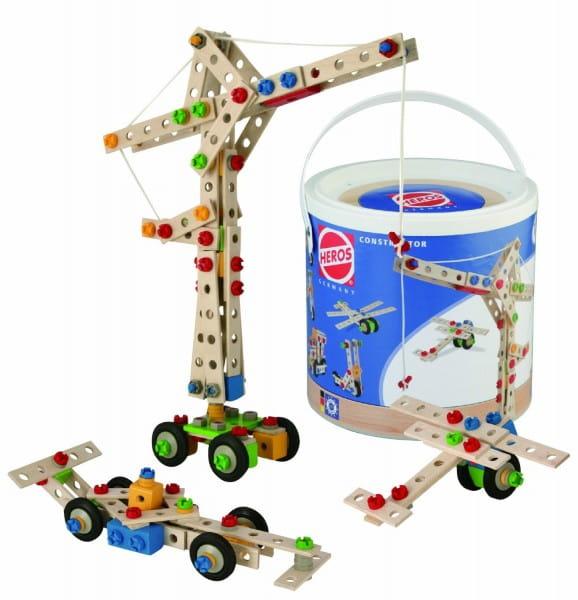 Купить Конструктор Heros Кран - 170 деталей (9 вариантов сборки) в интернет магазине игрушек и детских товаров