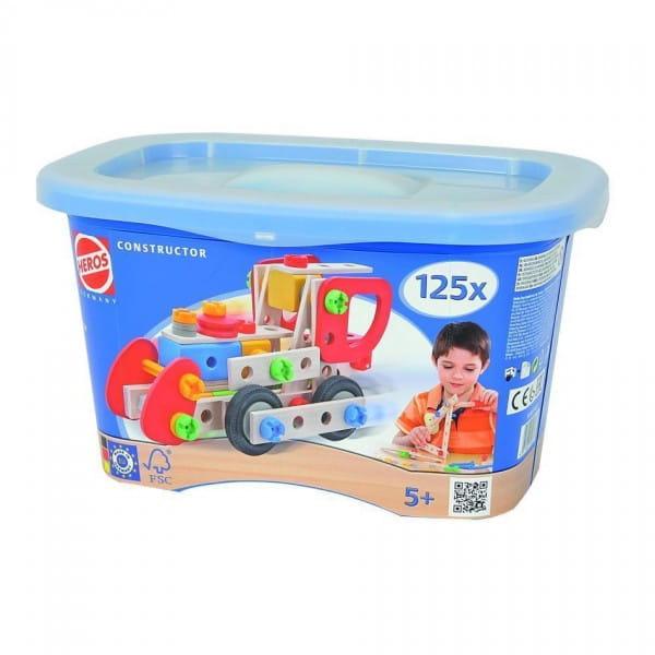 Купить Конструктор Heros Локомотив - 125 деталей (9 вариантов сборки) в интернет магазине игрушек и детских товаров