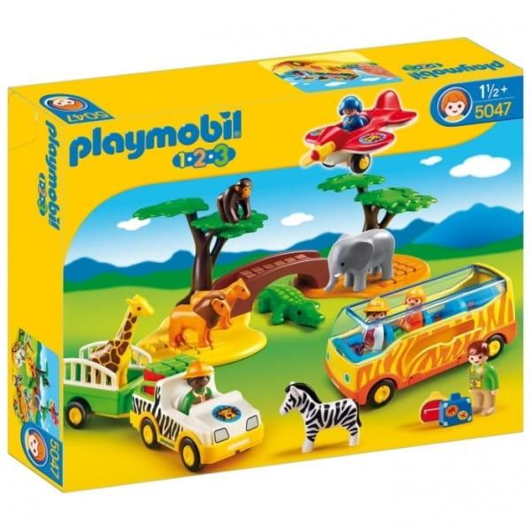 Игровой набор Playmobil Большое африканское сафари