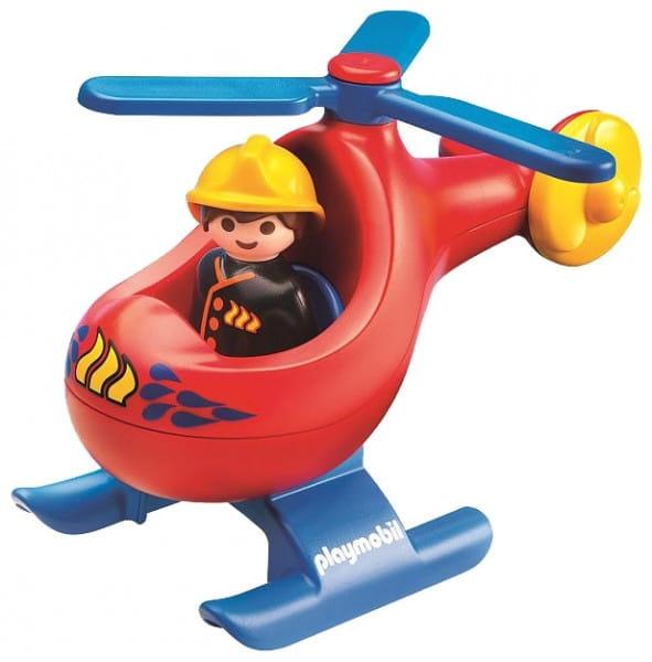 Игровой набор Playmobil Вертолет для пожаротушения