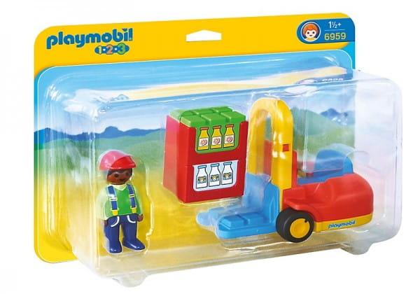 Игровой набор Playmobil Вилочный погрузчик