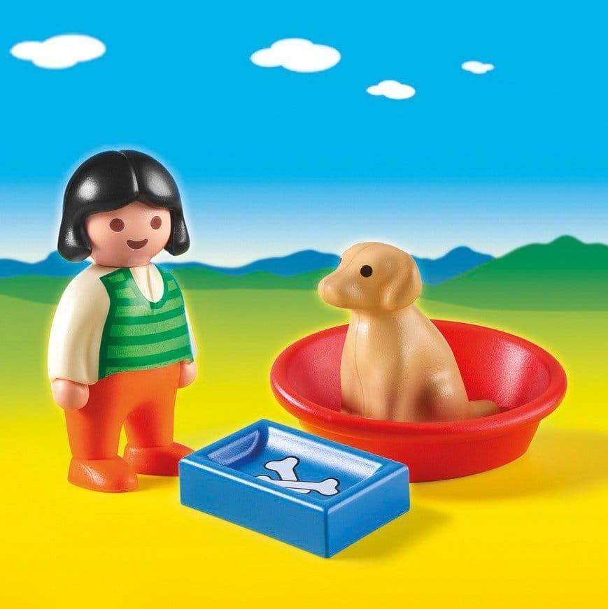 Игровой набор Playmobil 6796pm Девочка с собакой