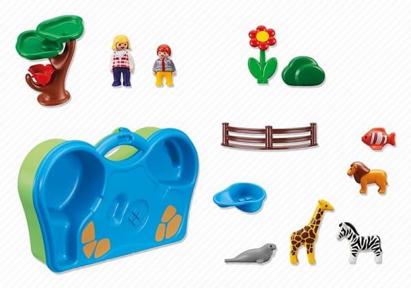 Игровой набор Playmobil Зоопарк и Аквариум
