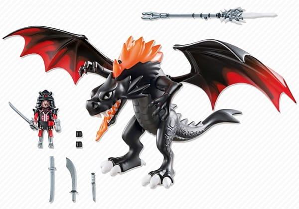 Игровой набор Playmobil Азиатский дракон - Битва Дракона