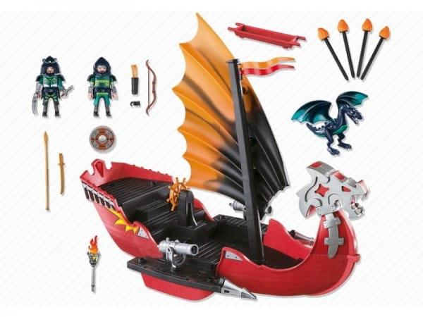Игровой набор Playmobil Азиатский дракон - Корабль Дракона