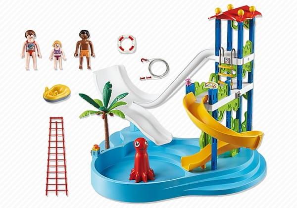 Игровой набор Playmobil Аквапарк - Башня с горками