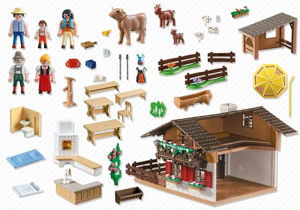Игровой набор Playmobil В горах - Дом в горах