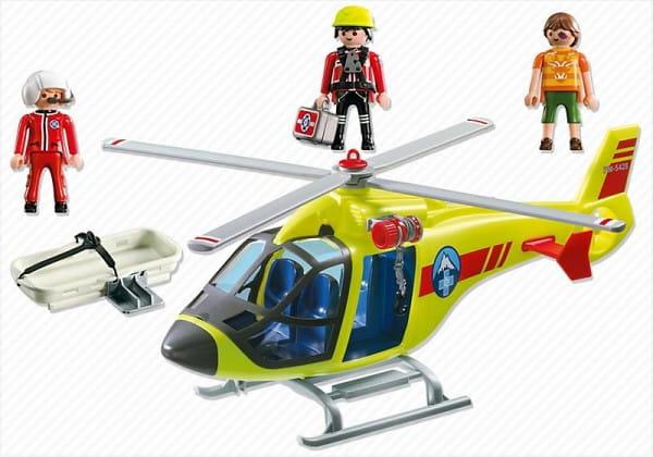 Игровой набор Playmobil В горах - Спасательный вертолет
