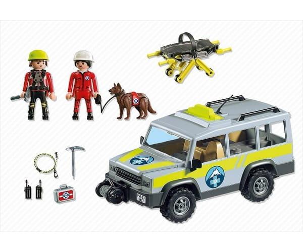 Игровой набор Playmobil В горах - Спасательный грузовик