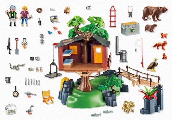 Игровой набор Playmobil В Поисках Приключений - Дом на дереве