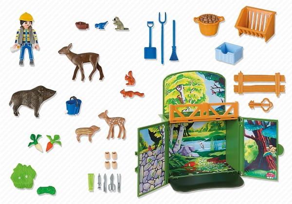 Игровой набор Playmobil Возьми с собой - Лесные животные