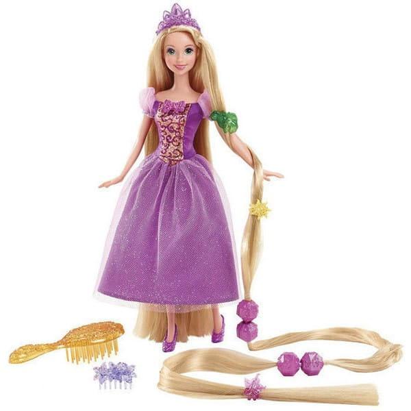 Купить Кукла Disney Princess Принцесса Рапунцель c аксессуарами (Mattel) в интернет магазине игрушек и детских товаров
