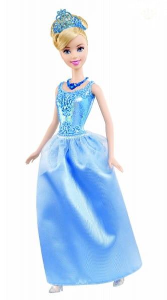 Купить Кукла Disney Princess Золушка в сверкающем наряде (Mattel) в интернет магазине игрушек и детских товаров