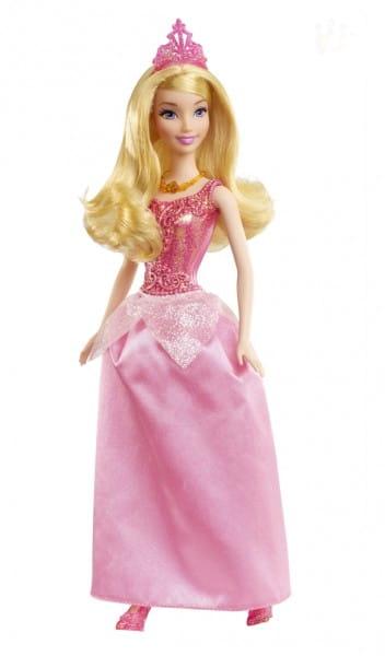 Купить Кукла Disney Princess Спящая красавица в сверкающем наряде (Mattel) в интернет магазине игрушек и детских товаров