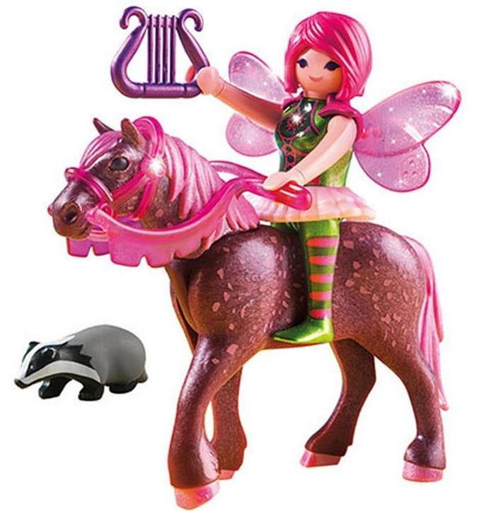 Игровой набор Playmobil 5449pm Лесная фея Суря с лошадью