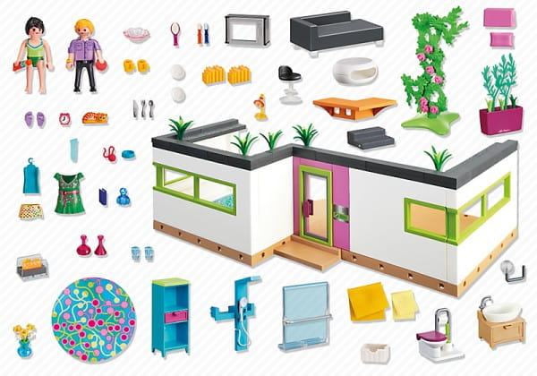 Игровой набор Playmobil Особняки - Номер для гостей