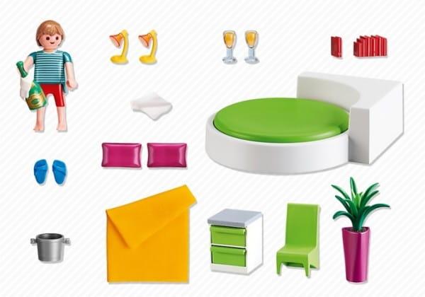 Купить Игровой набор Playmobil Особняки - Современная спальня в интернет магазине игрушек и детских товаров