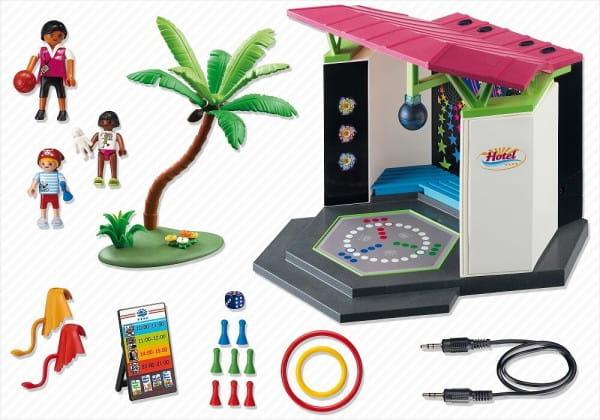 Игровой набор Playmobil Отель - Детский клуб с танцплощадкой