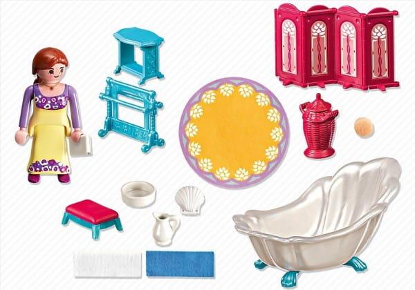 Купить Игровой набор Playmobil Сказочный дворец - Королевская ванная комната в интернет магазине игрушек и детских товаров