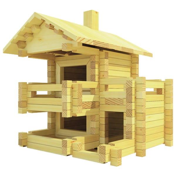 Конструктор Лесовичок Разборный домик №3 (150 деталей)