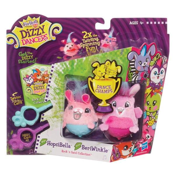 Купить Игрушка FurReal Friends Dizzy Dancers (Диззи Дэнсерс) 2 зверька HopsiBella и BeriWinkle (Hasbro) в интернет магазине игрушек и детских товаров