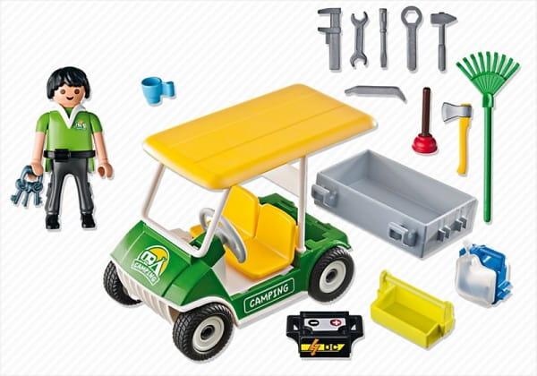 Игровой набор Playmobil Каникулы - Машинка для кемпинга