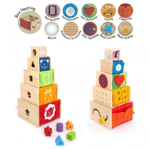 Купить Игровой набор I am Toy из 5 обучающих ящиков в интернет магазине игрушек и детских товаров