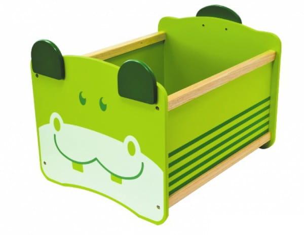 Ящик для хранения I am Toy Бегемот - зеленый
