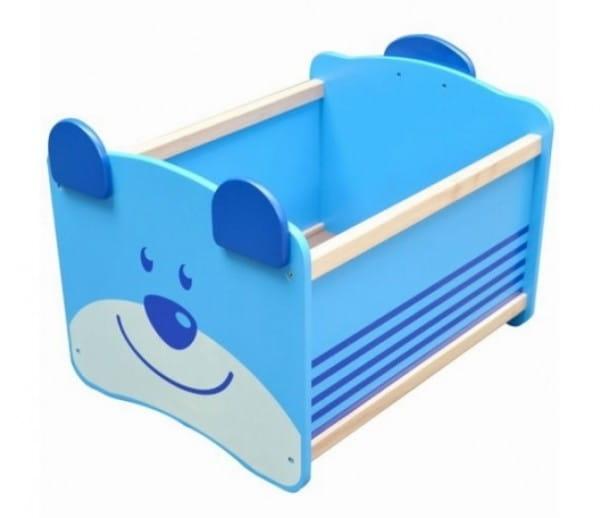 Ящик для хранения I am Toy 41010im Медведь - синий