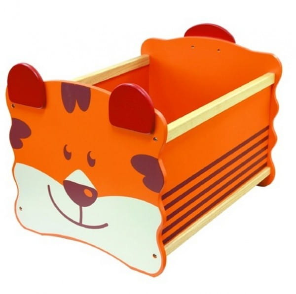 Ящик для хранения I am Toy Тигр - оранжевый