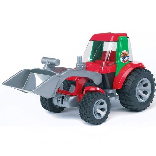 Трактор погрузчик Bruder Roadmax