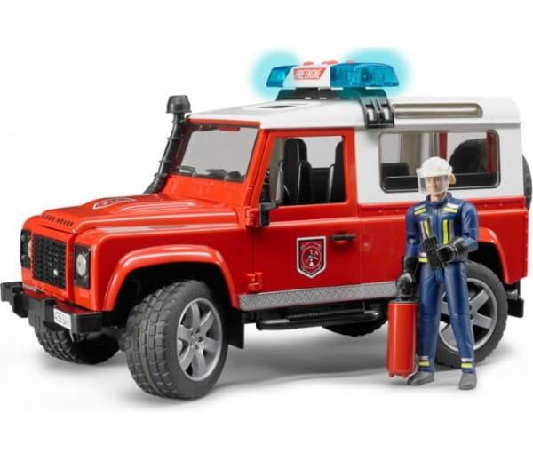 Внедорожник Bruder Land Rover Defender Station Wagon с фигуркой