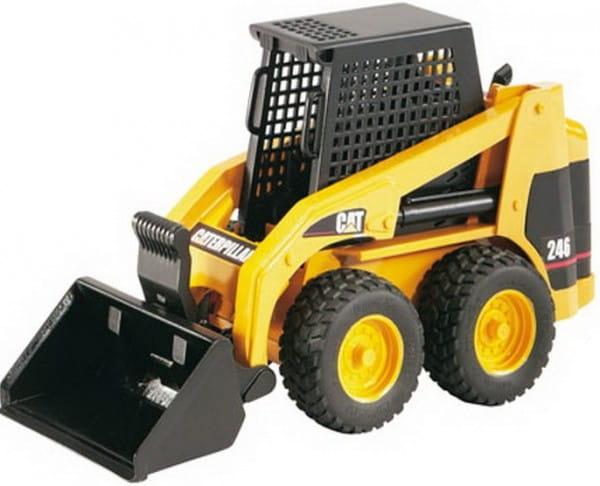 Мини погрузчик колесный Bruder 02-431 Cat с ковшом