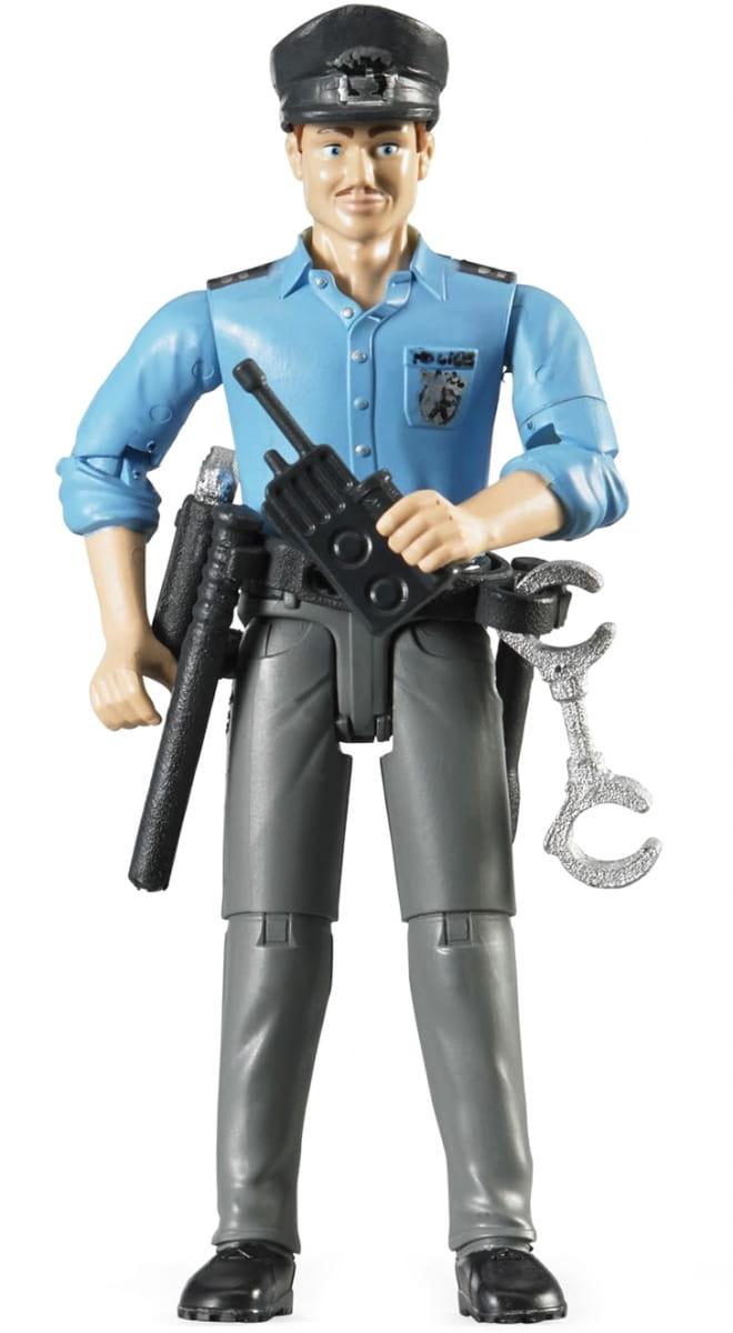 Игровой набор Bruder 60-050 Фигурка полицейского с аксессуарами