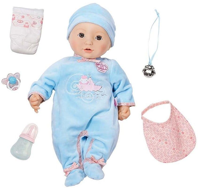 Кукла-мальчик BABY ANNABELL - 46 см (Zapf Creation)