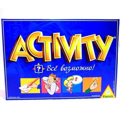 Купить Настольная игра Piatnik Activity Все возможно в интернет магазине игрушек и детских товаров