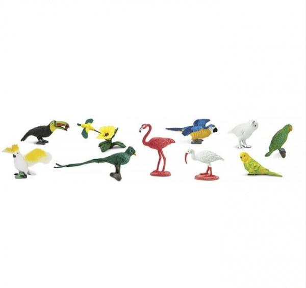 Набор SAFARI Экзотические птицы - 11 штук