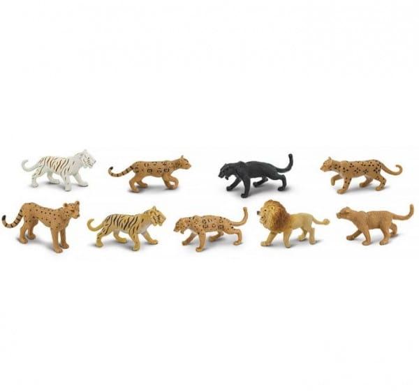 Набор Safari Большие кошки - 9 штук
