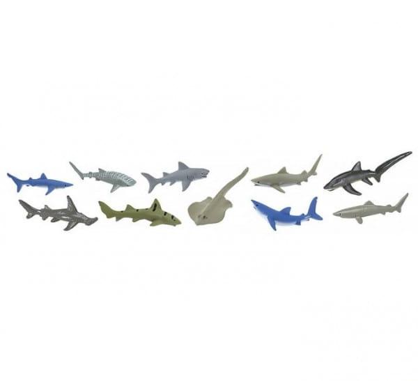 Купить Набор Safari Акулы - 7 штук в интернет магазине игрушек и детских товаров