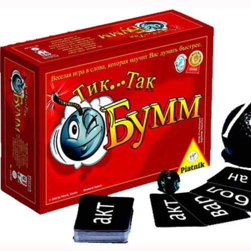 Купить Настольная игра Piatnik Тик Так Бумм в интернет магазине игрушек и детских товаров