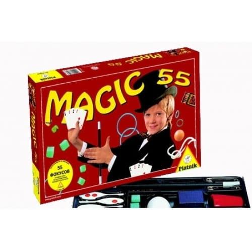 Купить Настольная игра Piatnik 55 фокусов в интернет магазине игрушек и детских товаров