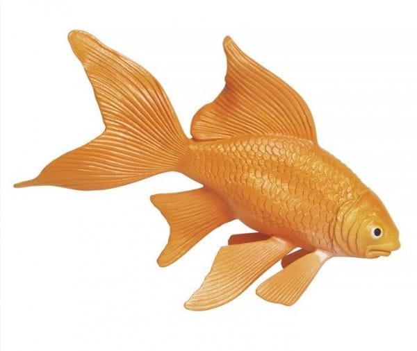 Купить Фигурка Safari Золотая рыбка XL в интернет магазине игрушек и детских товаров